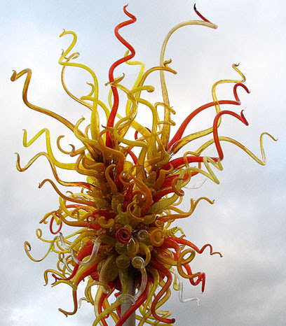 Chihuly Installation at Kew Gardens.