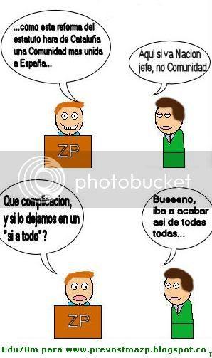 Aznar no lo haría así, ni Rajoy, of course