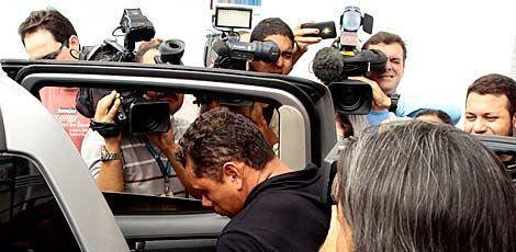 O acusado Gildo Xavier já seguiu para o Cotel / Foto: André Nery/JC Imagem