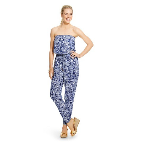Lilly Pulitzer for Target Women's Strapless Jumpsuit - Upstream