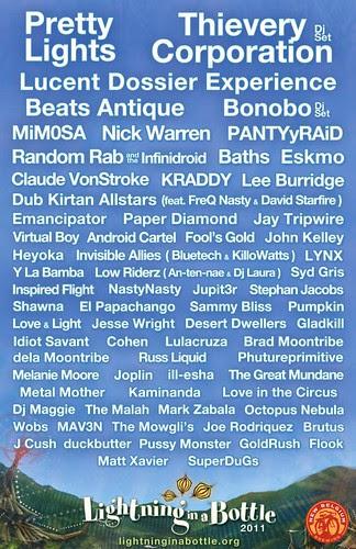 LIB 2011 Lineup