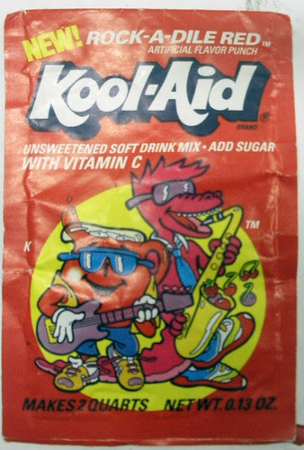 Kool-Aid Rock-A-Dile Red (Early 90's)