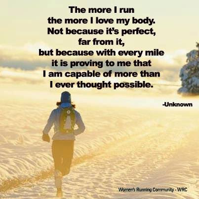 Runner Things 1170 The More I Run The More I Love My Body Not