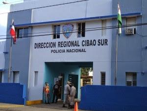 Dirección Cibao Sur de la Policía.
