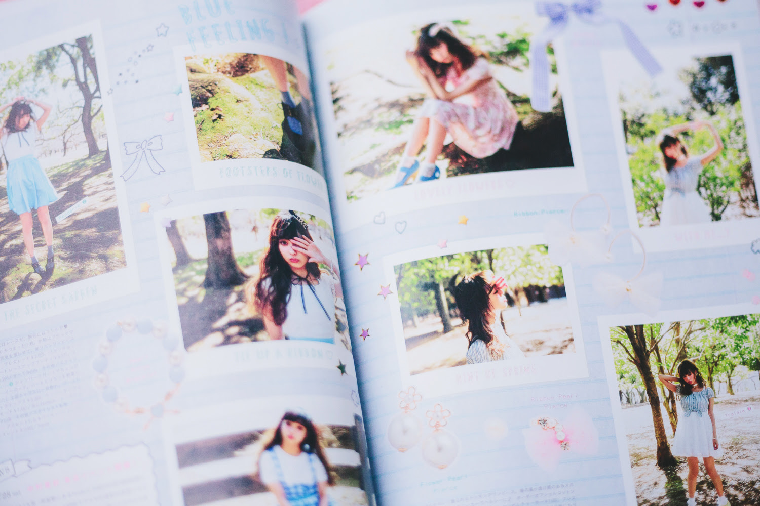 my girly photobook collection | chainyan.co