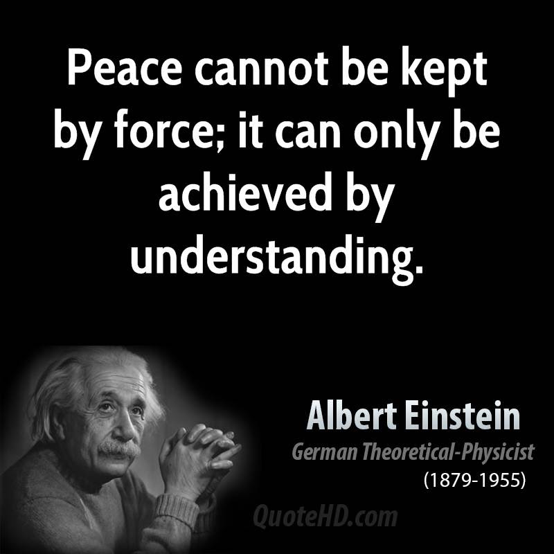 Quotes About Peace Einstein 21 Quotes