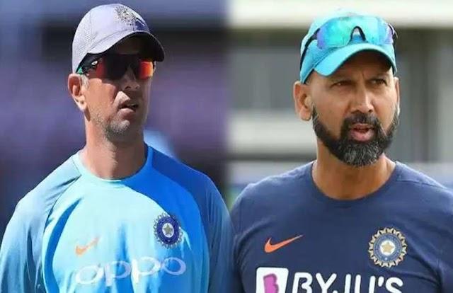 श्रीलंका दौरे पर कोच के रूप में द्रविड के साथ रवाना होंगे दिलीप और पारस