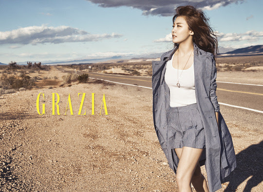 Ha Ji Won - Grazia Magazine March Issue '17