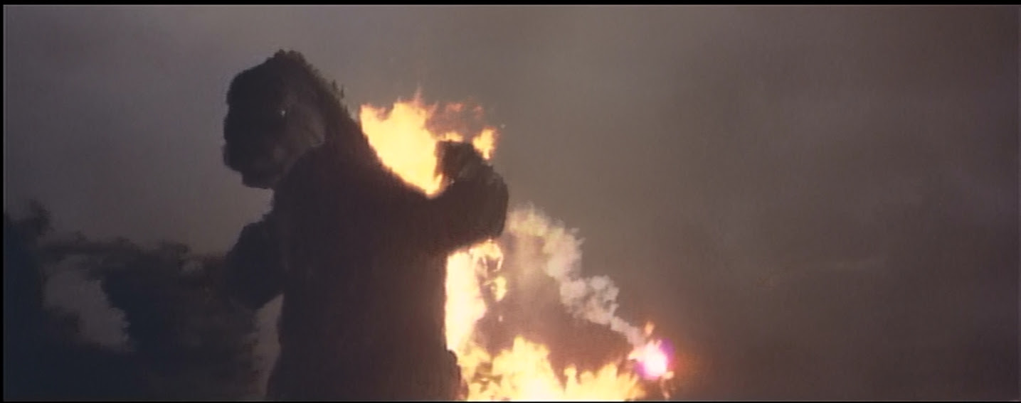 Godzilla NOW ON FIRE!