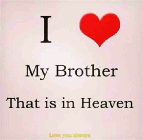 I Will Miss You My Brother Quotes
