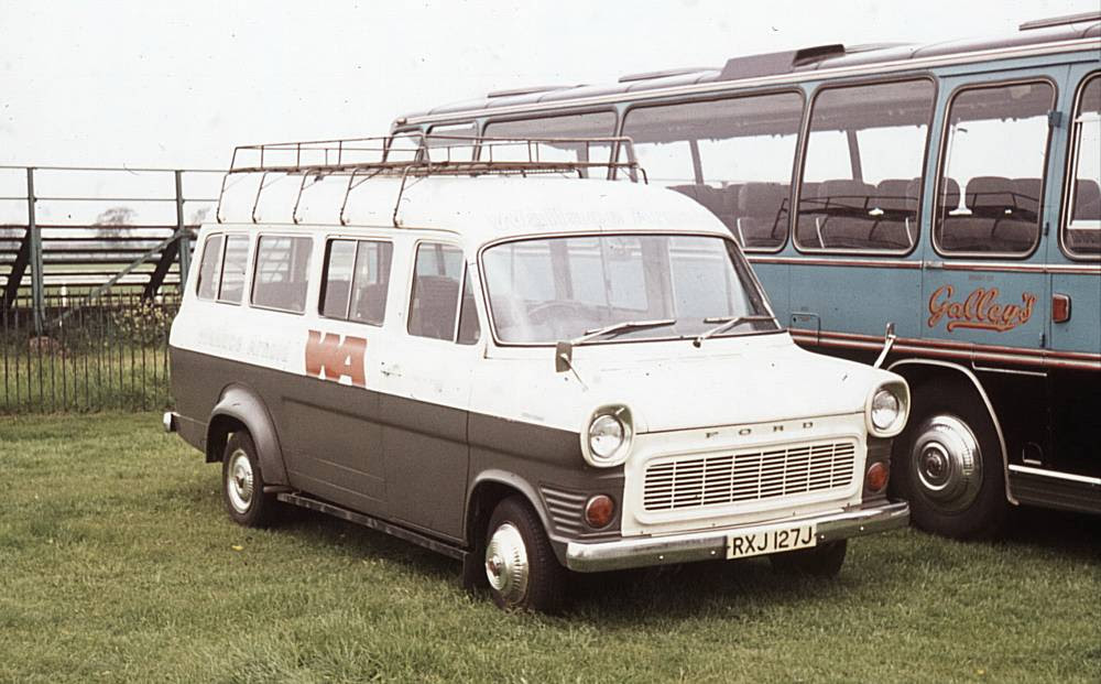 1971 Ford Transit with Williams Deansgate C12F bodywork