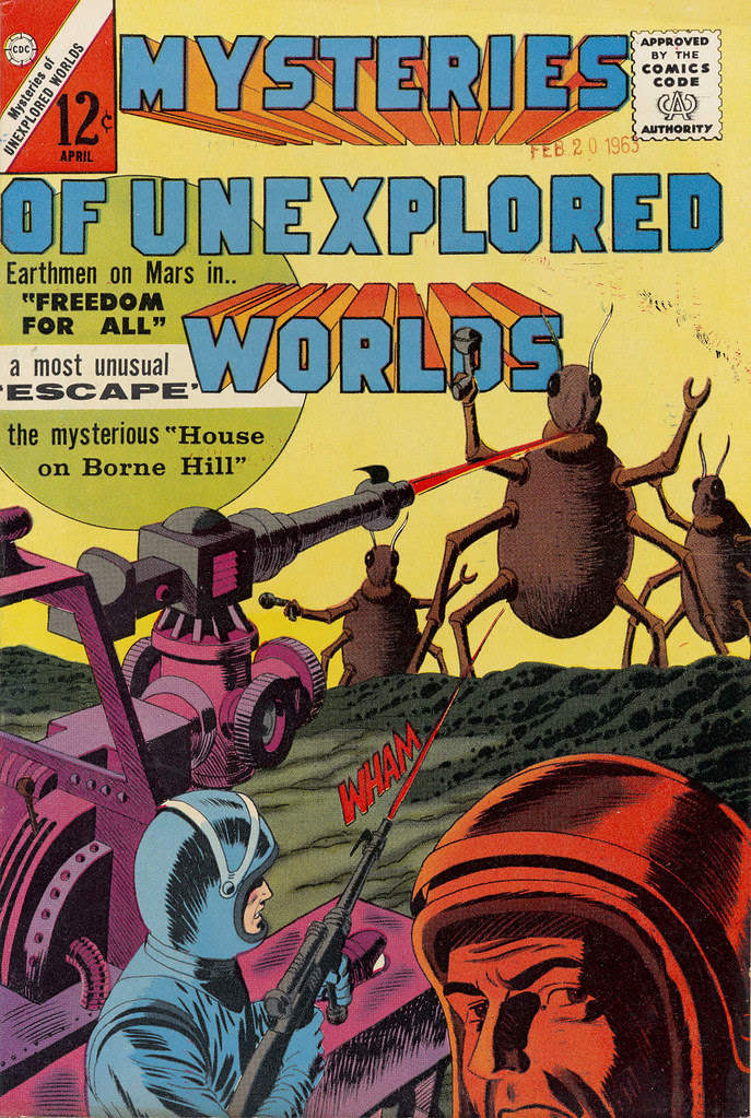 Mysteries of Unexplored Worlds #35 (Charlton, 1964)