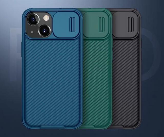 【Nillkin 滑蓋保護電話殼 iPhone 13 系列】網店獨家$128!重點保護鏡頭、防撞、防跌、防刮花
