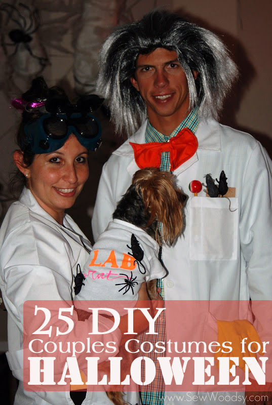 DIY Couples Halloween Costumes Ideas