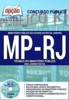 APOSTILA MINISTÉRIO PÚBLICO RJ - ÁREA ADMINISTRATIVA