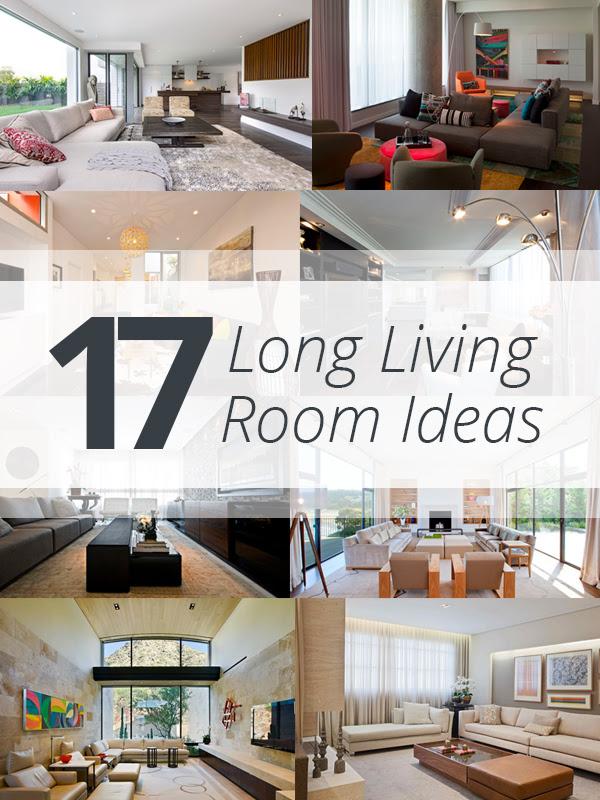 Long  Living  Room  Decorating  Ideas