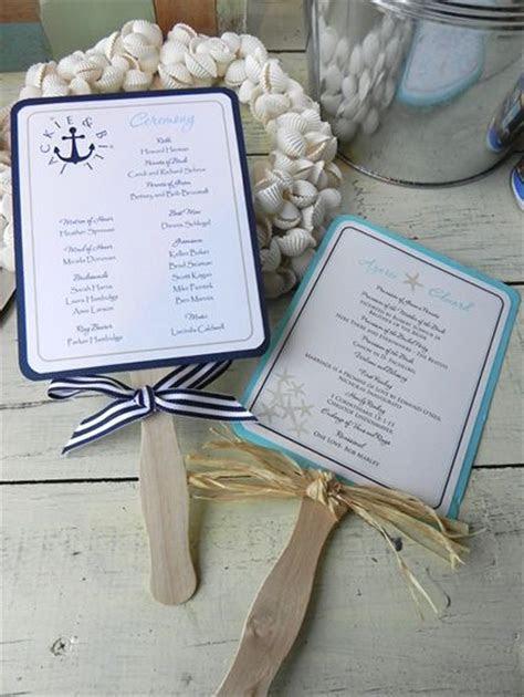Best 25  Beach wedding programs ideas on Pinterest