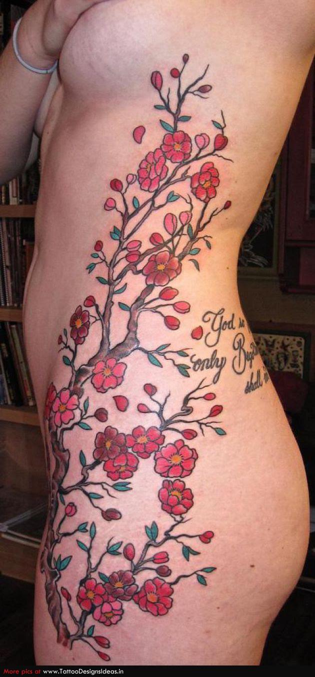 Forearm Cherry Blossom Tattoo Designs Tattoomagz
