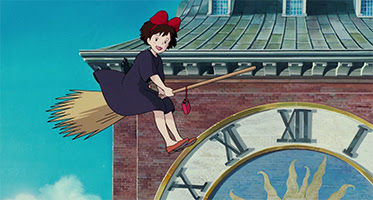In Kiki's Delivery Service, the protagonist Ki...