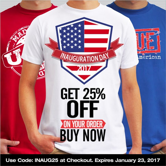 Inauguration Day Coupon Code