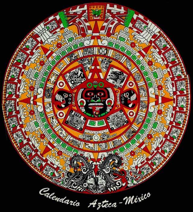 Almanaques Y Calendarios Calendario Azteca