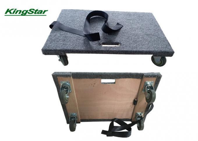 Carro móvil alfombrado resistente de los muebles con la ...