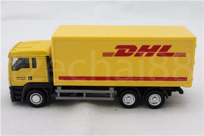 RMZ City 1:64 DIECAST MAN DHL Container Truck Yellow Model