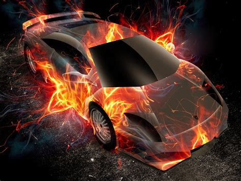 lamborghini flame fantasy world famous car design