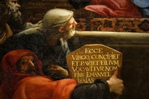 Detalle de La Anunciación