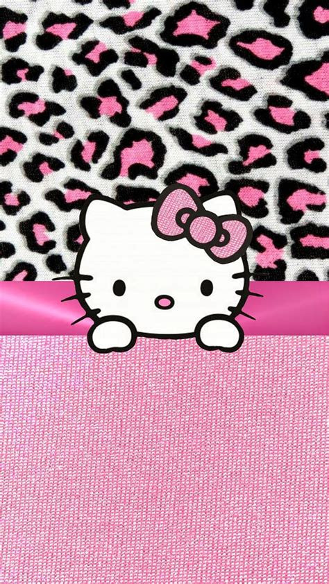 pink  kitty iphone wallpaper background iphone