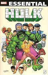 Essential Hulk, v. 5 cover