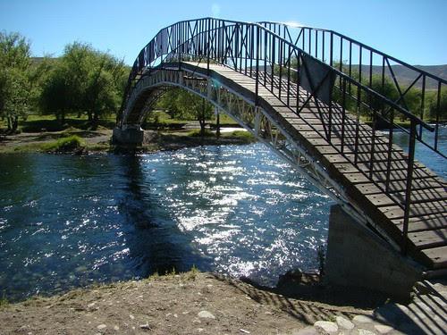 Junín de los Andes - Puente sobre el Río Chimehuin