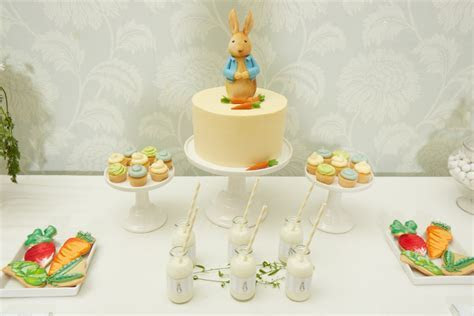 Peter Rabbit Dessert Table   Cakes by Robin