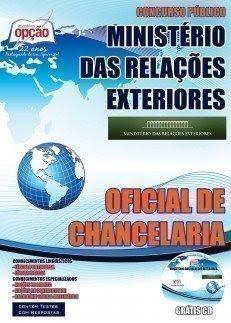 Apostila Concurso MRE Oficial de Chancelaria.