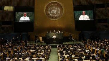 El papa Francisco pronunció un discurso cargado de conceptos ante la Asamblea General de las Naciones Unidas