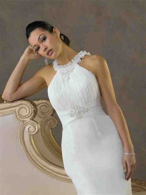 Simple Wedding Dresses For Second Marriage   Wedding and