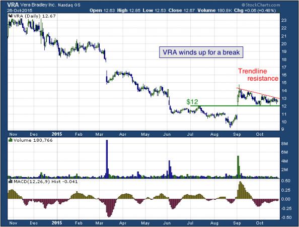 1-year chart of Vera (NASDAQ: VRA)
