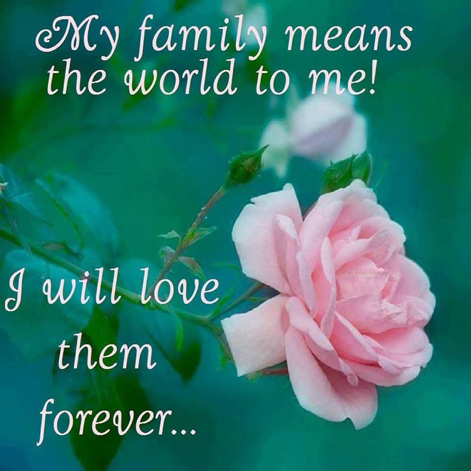 My Family Means The World To Me To Me Pictures Photos And Images