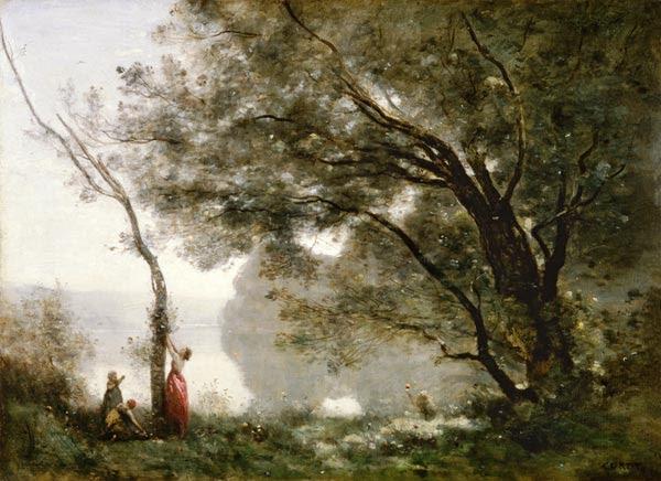 Jean-Baptiste-Camille Corot - Memoria de Mortefontaine