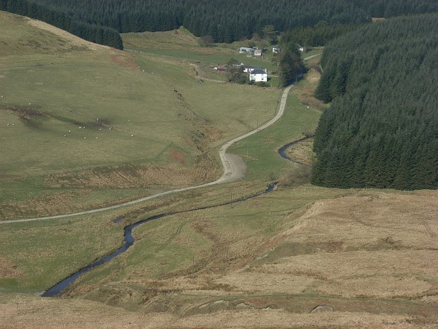 File:Logan Water and Arresgill - geograph.org.uk - 379129.jpg