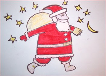 Aprender A Dibujar Papá Noel Eshellokidscom