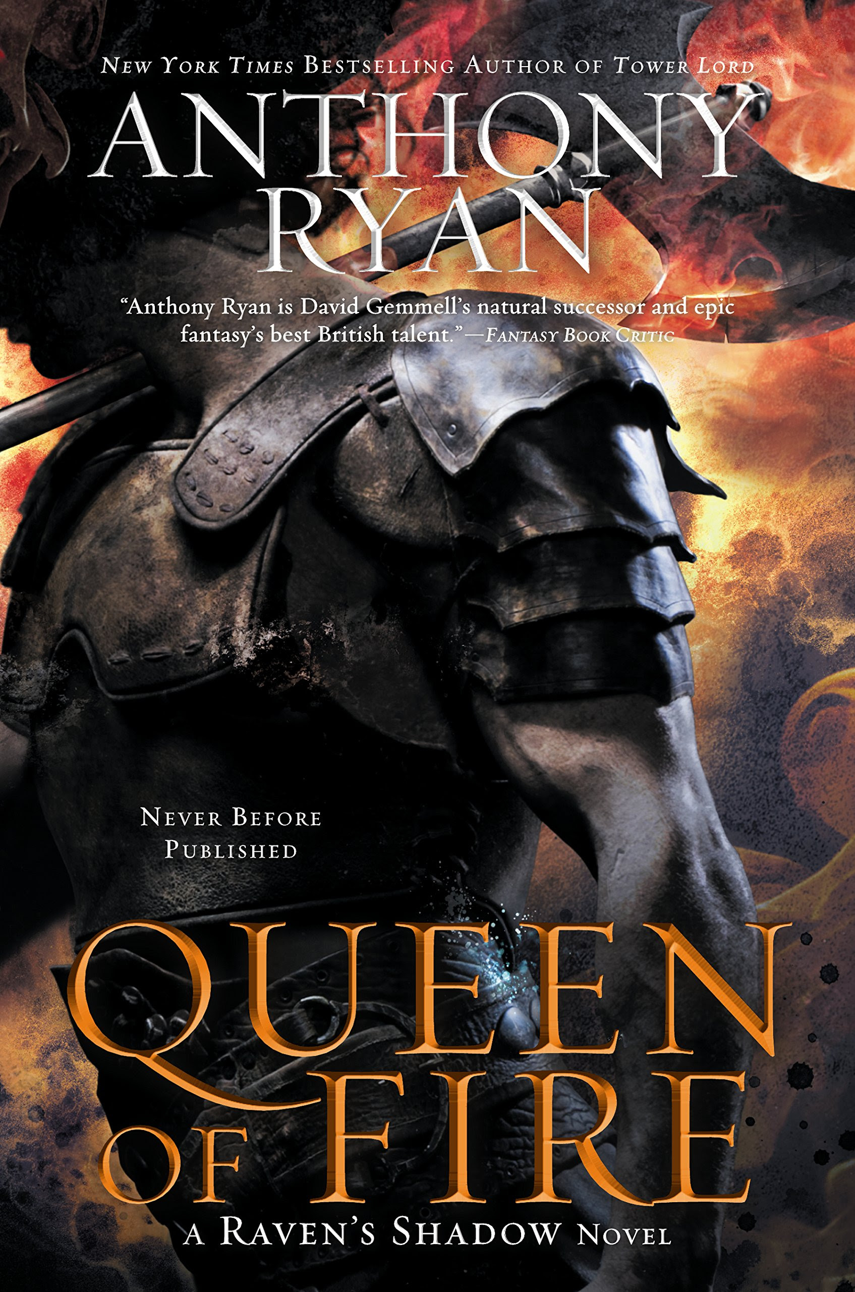 Bücherblog. Rezension. Book cover. Book cover. Queen of Fire (Book 3) Anthony Ryan. High Fantasy.