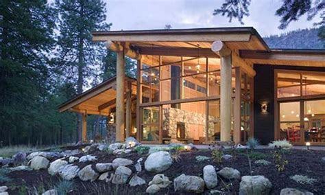 small mountain cabin modern mountain cabins designs small