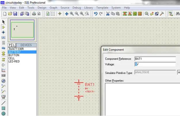Component Properties Edit