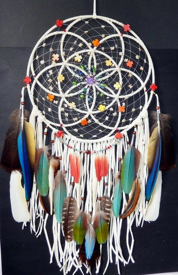 DIY Beautiful and Unique Dream Catcher Ideas (27)