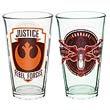 Star Wars VII Rebel 16 oz. Glass Tumbler