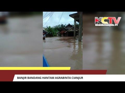 Banjir Bandang Hantam Agrabinta Cianjur