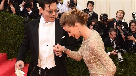 Johnny Depp and Amber Heard's 4 Cutest Moments   Martha