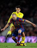 FC Barcelona vs Villareal Match Pictures on 02/01/10
