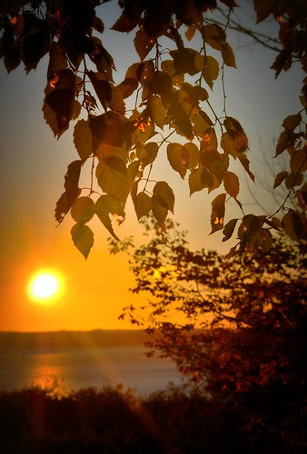 The Sun Rising Over Penobscot Bay
